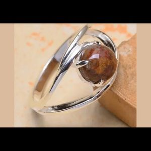 Size 6.75 sterling silver ring
